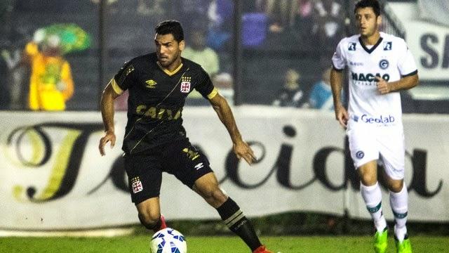 Vasco e Goiás empatam sem gols no São Januário