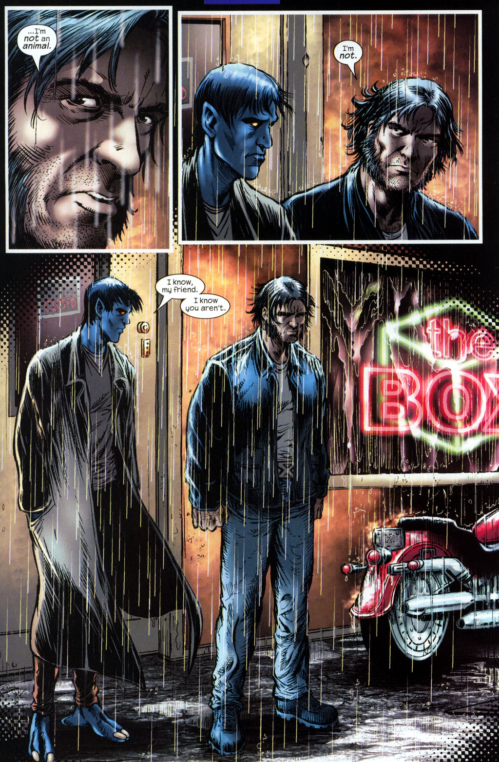 Read online Wolverine (2003) comic -  Issue #6 - 23