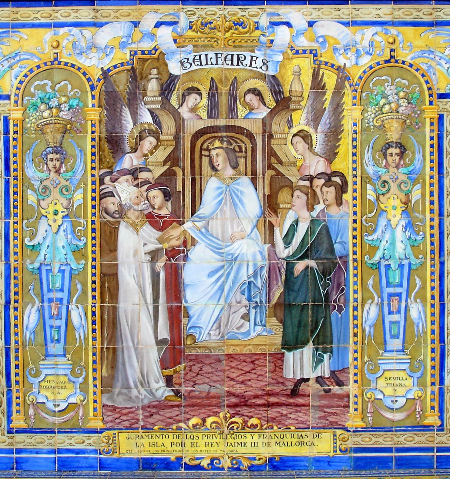 Otra historia de espa a juramento de los privilegios y for El rey de los azulejos