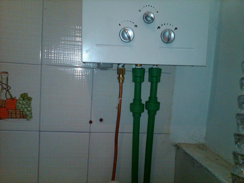 A a servicios instalaci n de calentador haier con - Calentadores a gas ...