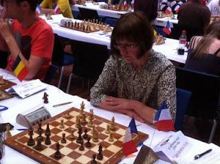 Échecs à Avoine : Bon départ pour la GMF Anda Safranska avec 1,5 point sur 2 - Photo © Chess & Strategy