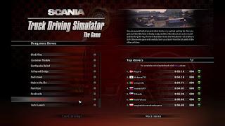 Scania truck driver simulator game Stds_00001