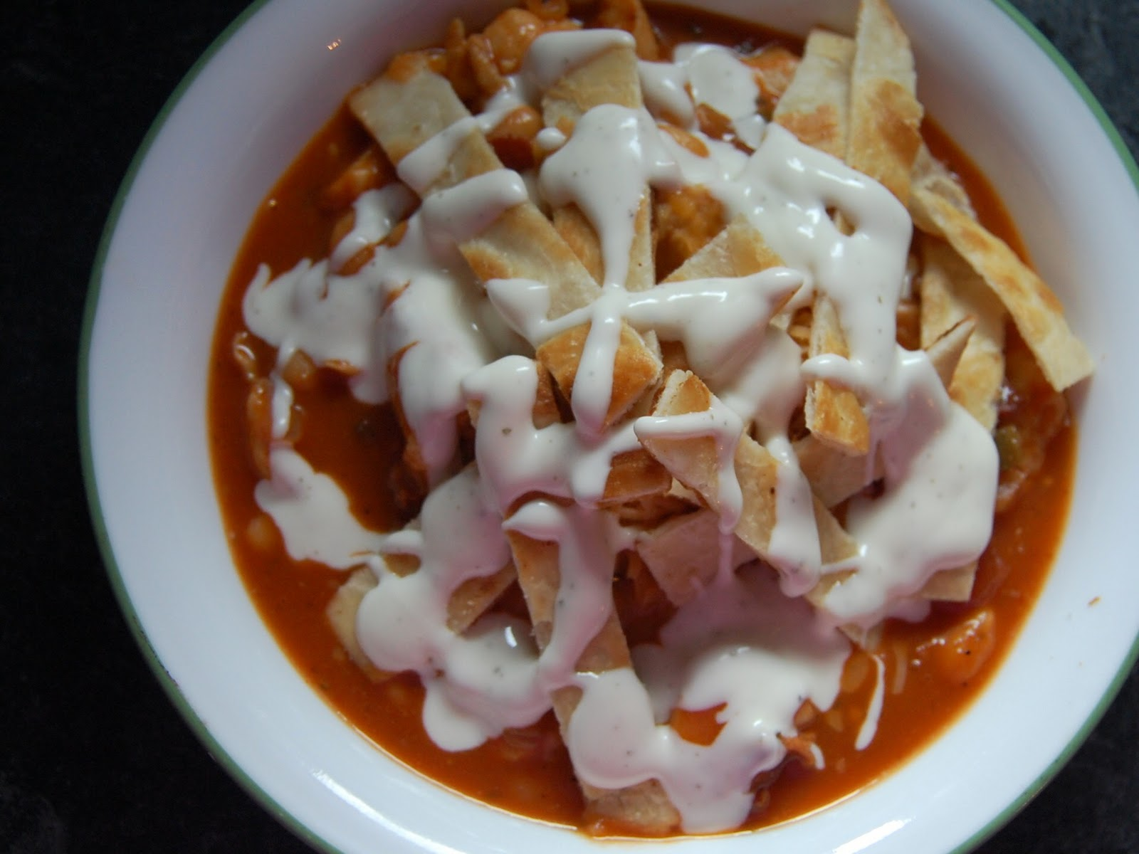 Saays With Rachael Ray Chicken Bacon Ranch Chili