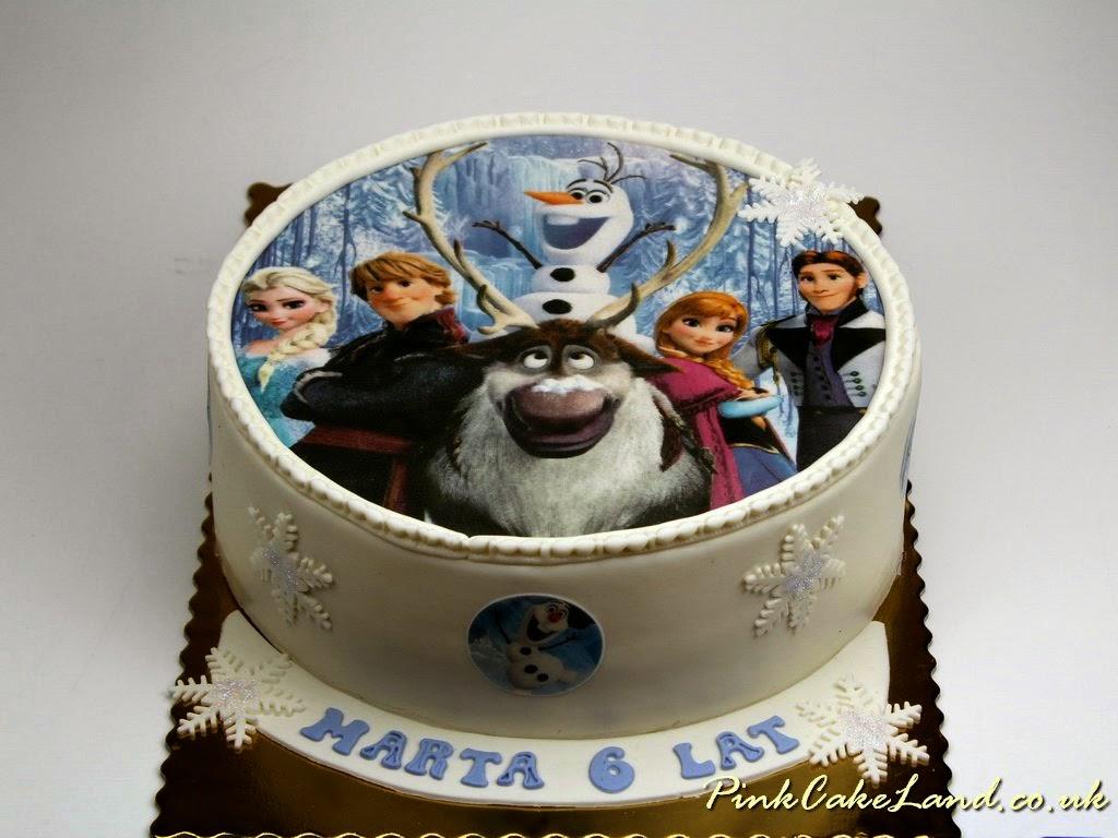 Cakes in Surrey Disney Frozen Cakes in Surrey
