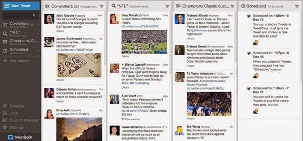 TweetDeck for Chrome - The most powerful Twitter tool for real-time tracking, organizing and engagement