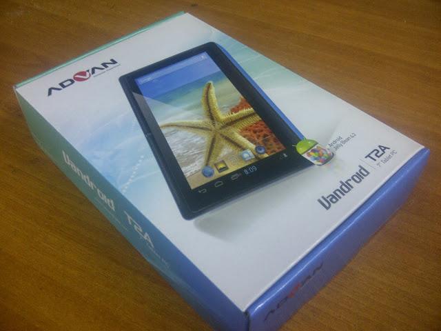 vandroid t2a advan tablet wifi only spesifikasi vandroid t2a advan ...