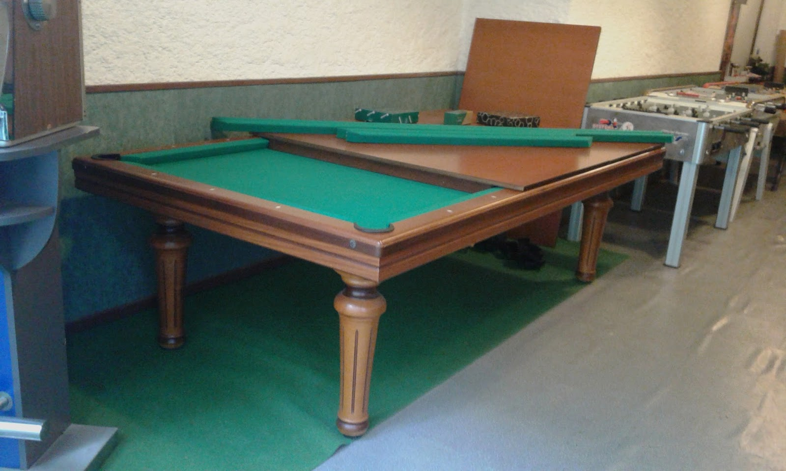 Table de billard occasion table de lit a roulettes - Table billard transformable occasion ...