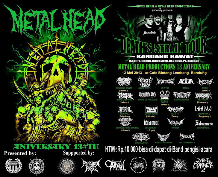 METAL HEAD PRODUCTION ANIVERSARY #13