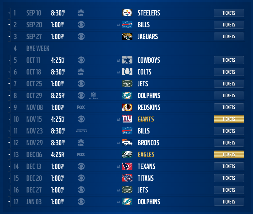 patriots unveil 2015 schedule | nepatriotslife - new england
