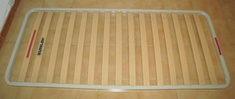 3 somier de muelles cama individual l g moving - Estructura cama individual ...