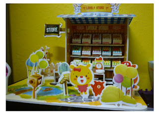 Miniatures Mini Store 3D pattern