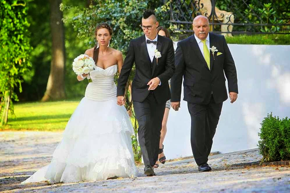Marek hamsik wedding