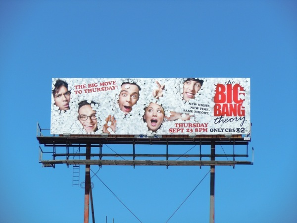 Big Bang Theory season 4 billboard