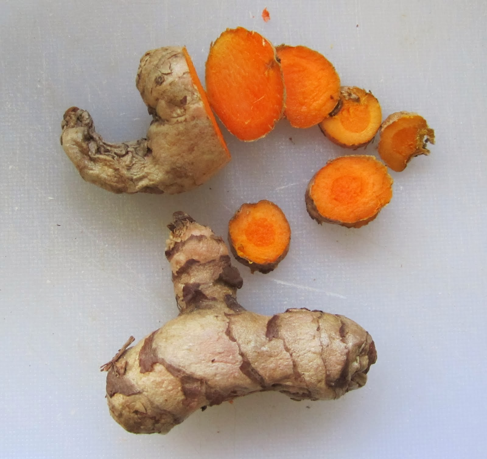 Fresh tumeric root