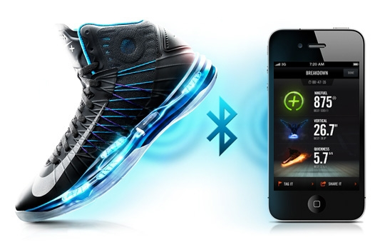 best service c365f 262eb Zapatillas Nike con Sensor Bluetooth