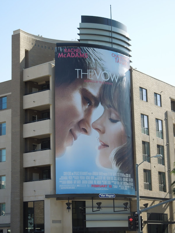 The Vow film billboard