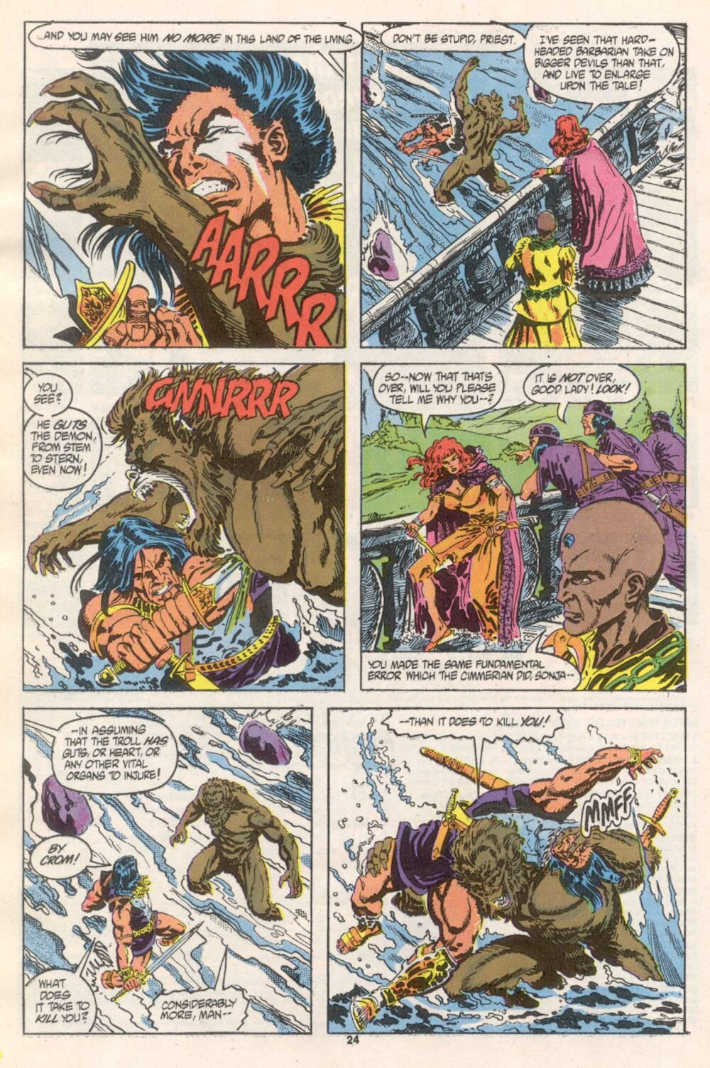 Conan the Barbarian (1970) Issue #241 #253 - English 19