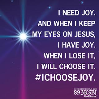 KSBJ I chose joy