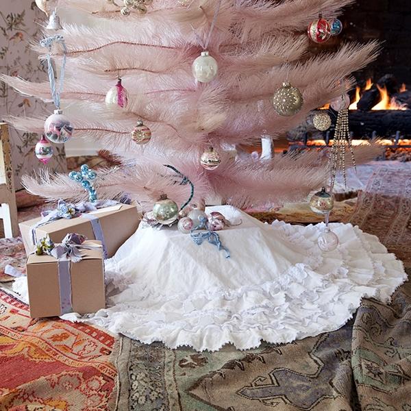 Pastel blonde december 2011 - Navidad shabby chic ...