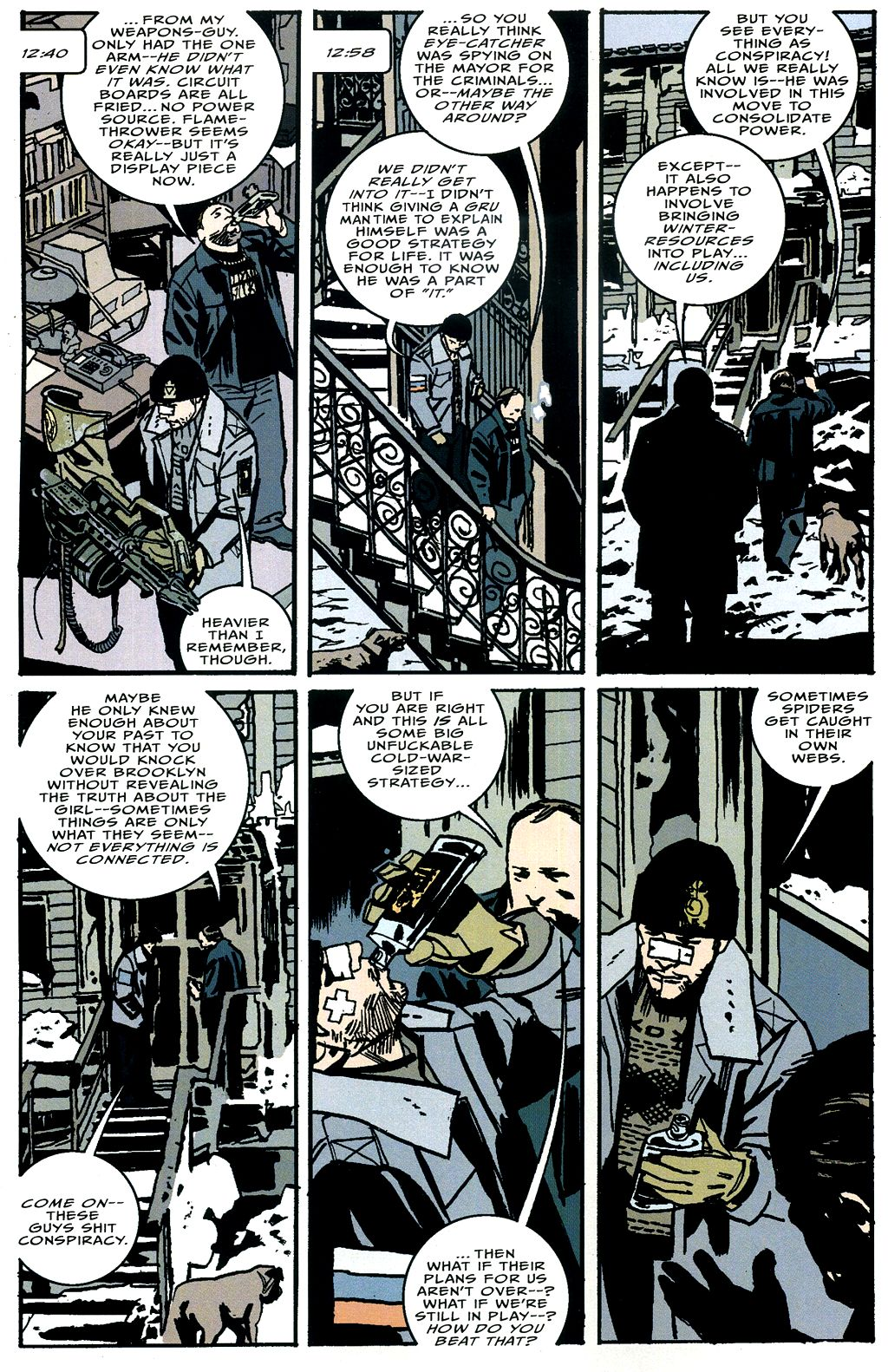 Read online The Winter Men comic -  Issue #4 - 9