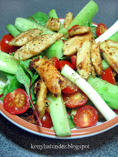 browned-chicken-breast-salad
