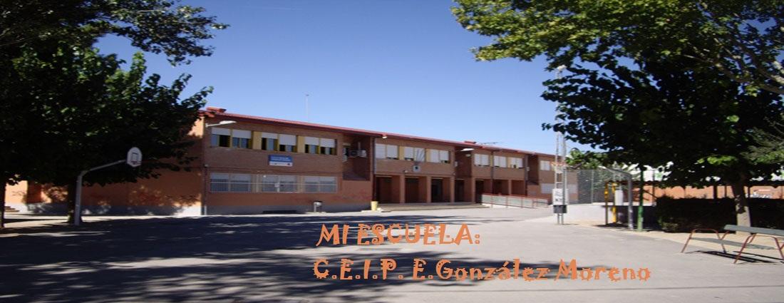 Mi escuela:C.E.I.P. E. González  Moreno