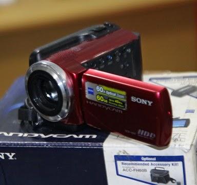 jual handycam bekas Sony DCR-SR47e