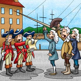 Ilustração Livro Didático História - por Alexander Santos
