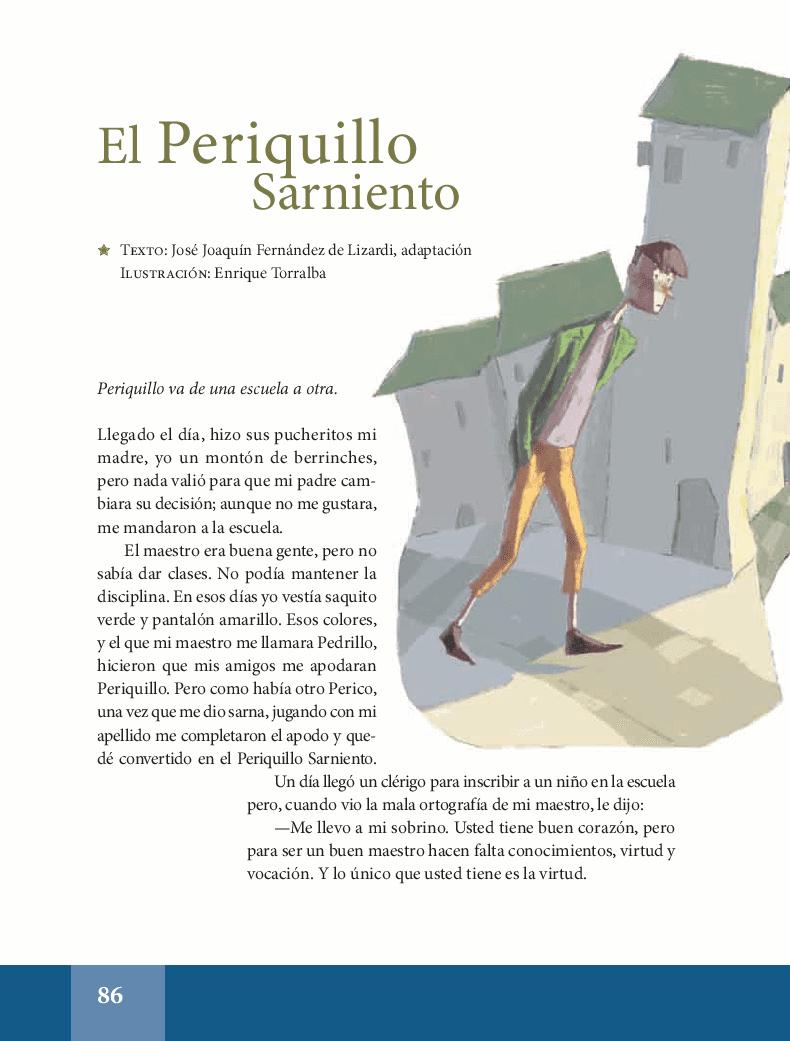 El periquillo sarniento - Español Lecturas 5to 2014-2015