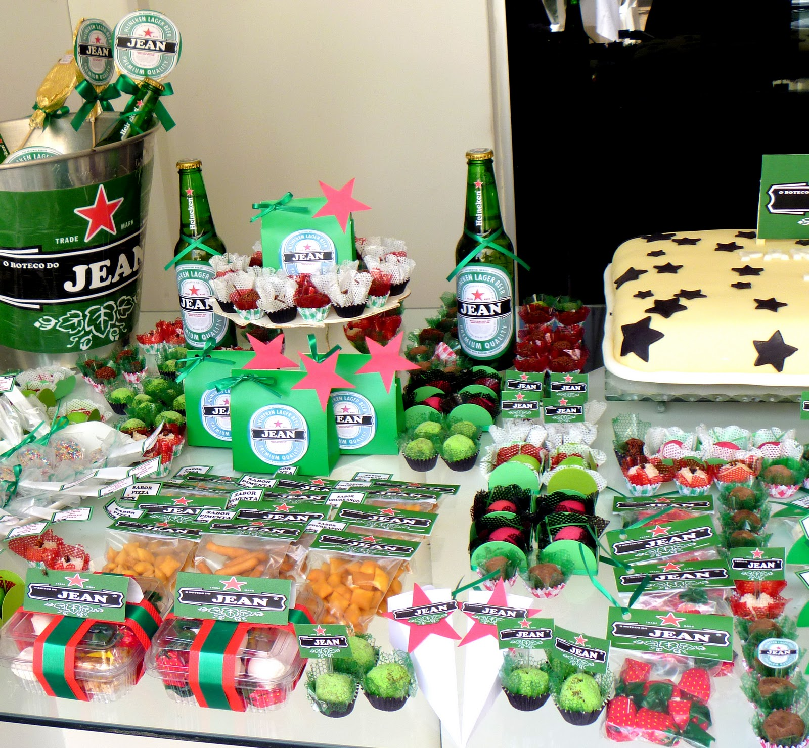 Extremamente Lary's Paper Personalização de Festas: Aniversário Jean - Tema  AK76