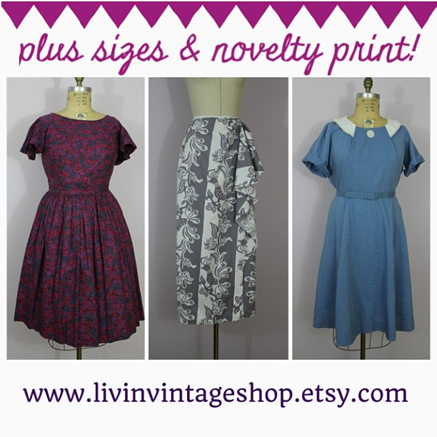 50s dress, 40s dress, vlv, sarong skirt, plus size vintage