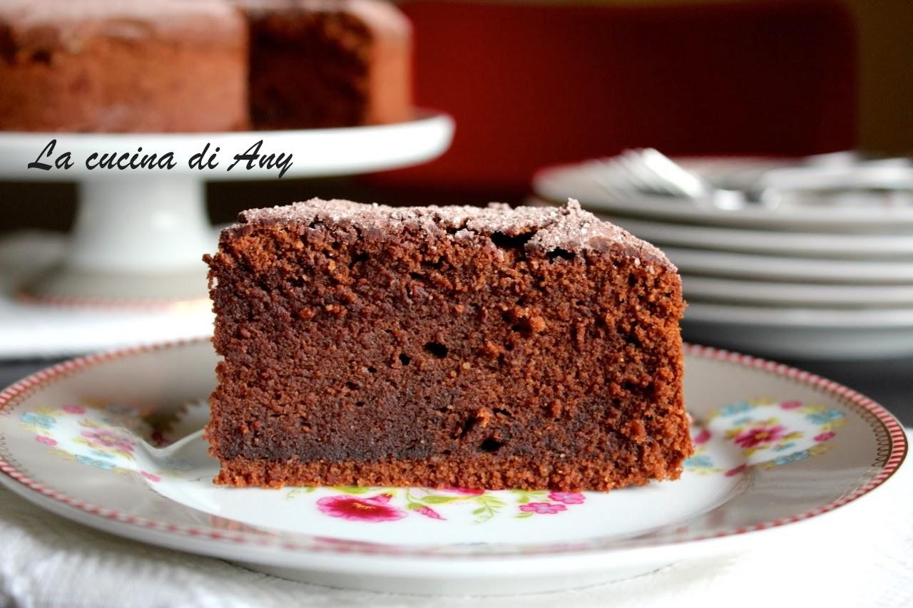 torta al cioccolato, mandorle e caffè - tort cu cioccolata, migdale si cafea