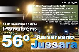 56 anos de Jussara