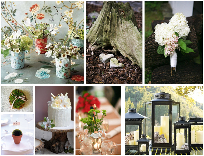 Wedding centerpieces themes : Rustic wedding centerpieces ideas unique and
