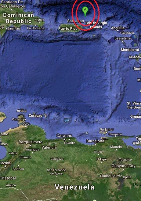 Magnitude 3.1 Earthquake of Luquillo, Puerto Rico 2014-09-10