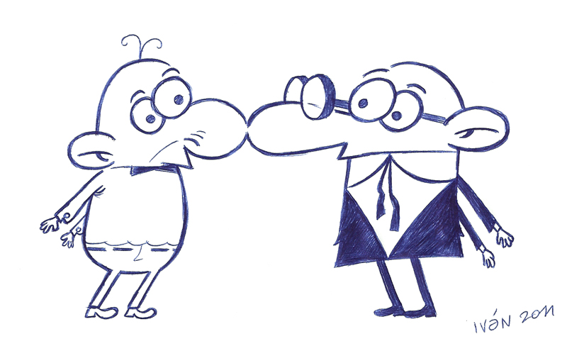 Pies en caricatura - Imagui