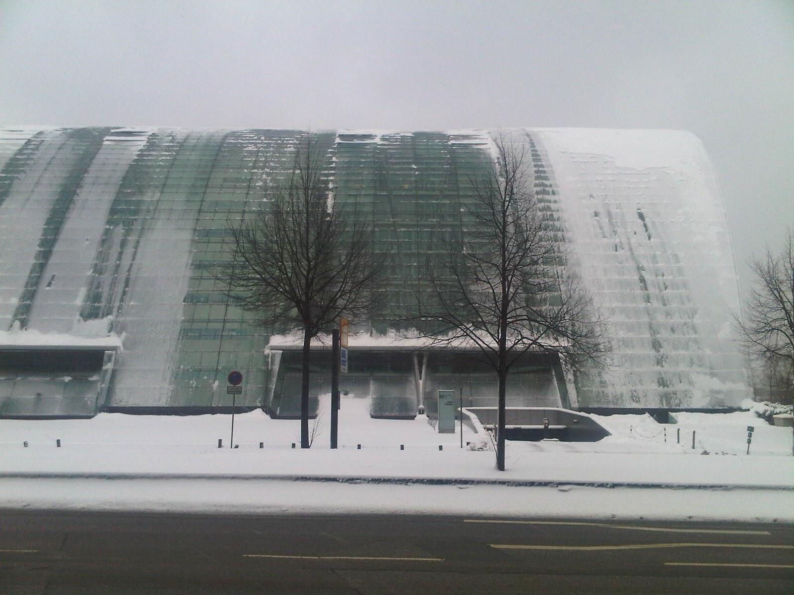 Berliner Bogen schneebedeckt