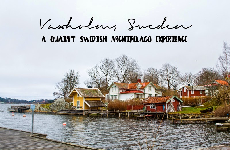 A quaint swedish archipelago experience in vaxholm