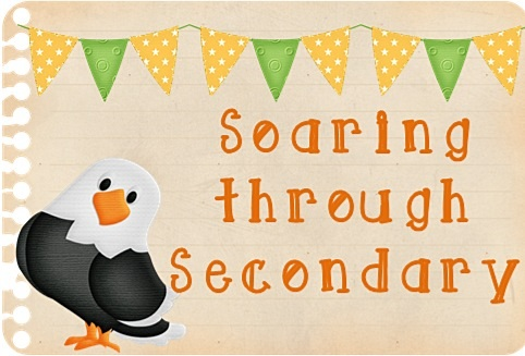 Soaring Through Secondary Blog Hop - Today!