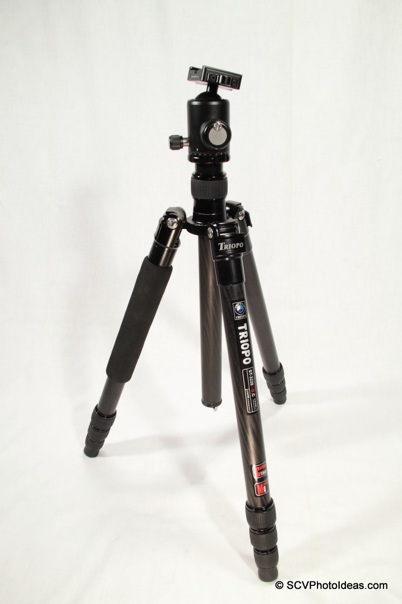 Sunwayfoto DB-36TRLR on Triopo GT-3228X-8C tripod overview