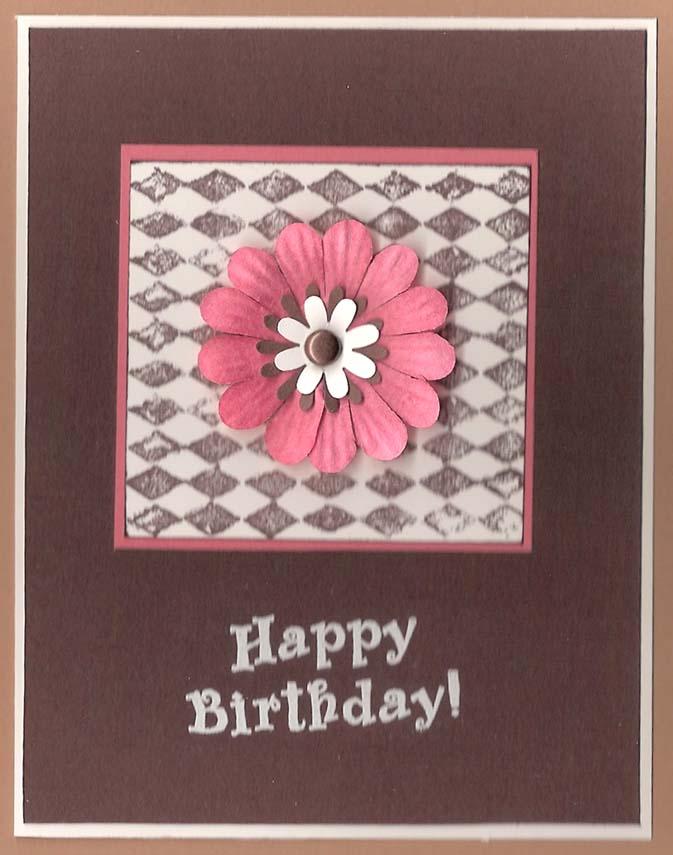 Handmade Birthday Cards for Girls : Let's Celebrate!
