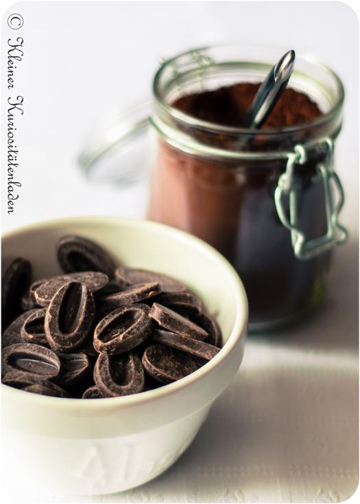 Valrhona-Kuvertüre und -Kakaopulver