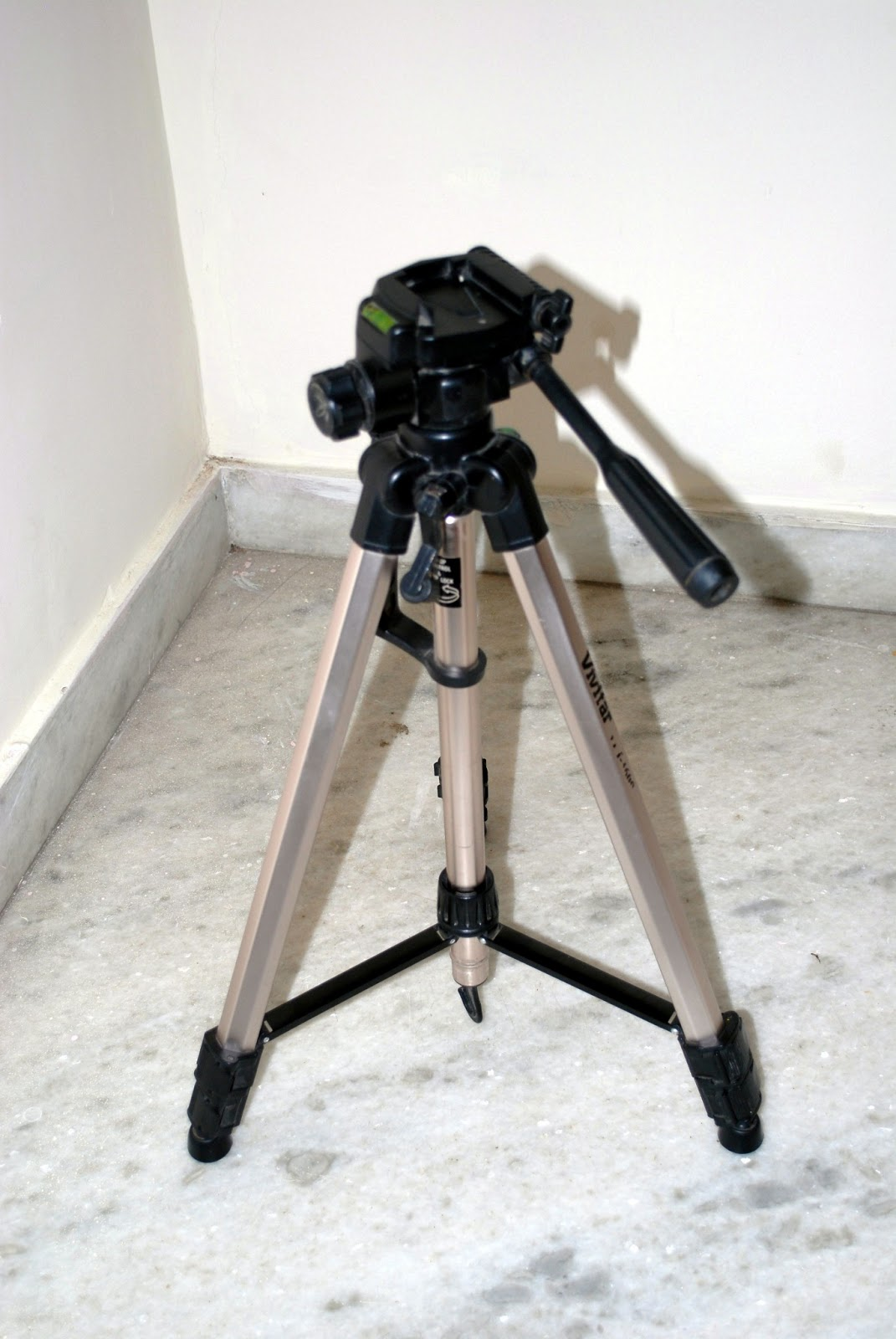 making a tripod
