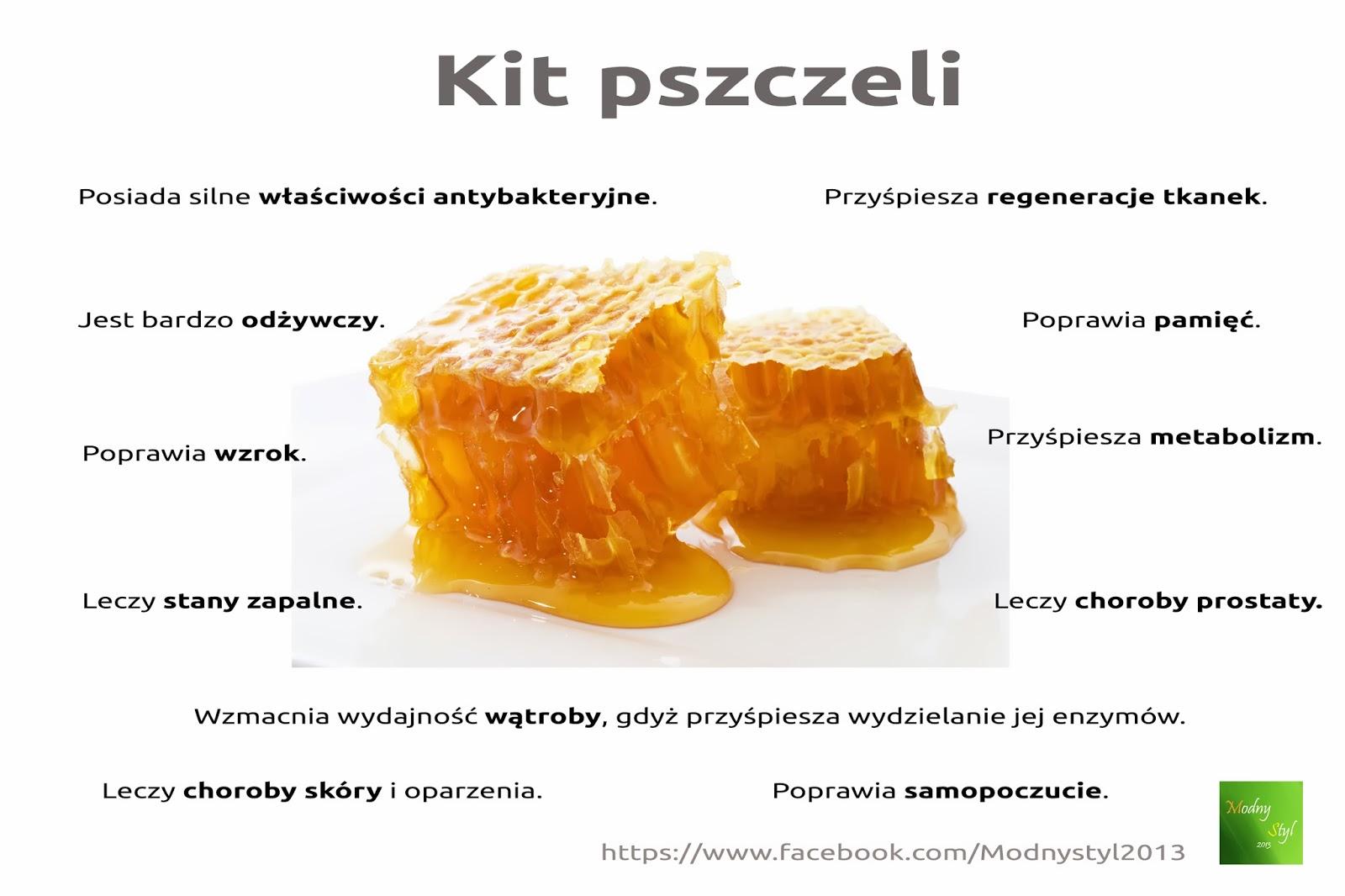 Lecznicze właściwości kitu pszczelego - propolisu.