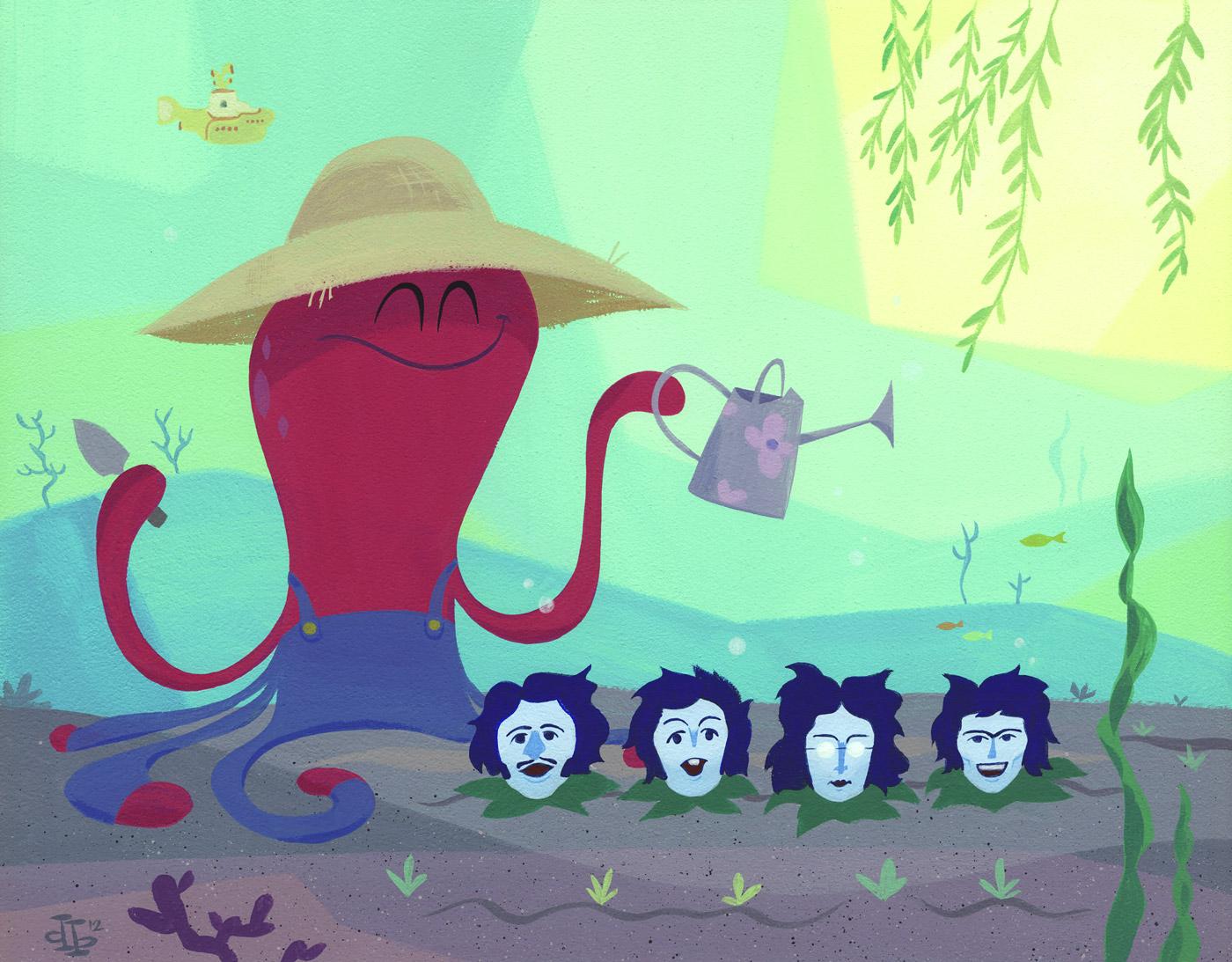 Pumml Octopus 39 Garden