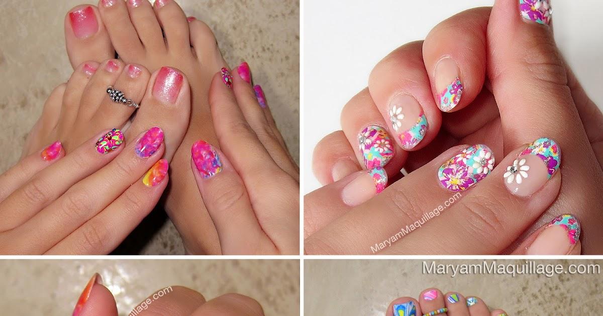 Maryam Maquillage: Nail Art, Toe Art!
