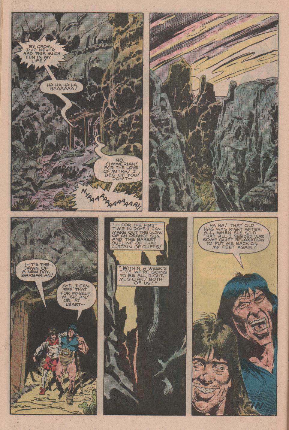Conan the Barbarian (1970) Issue #160 #172 - English 23