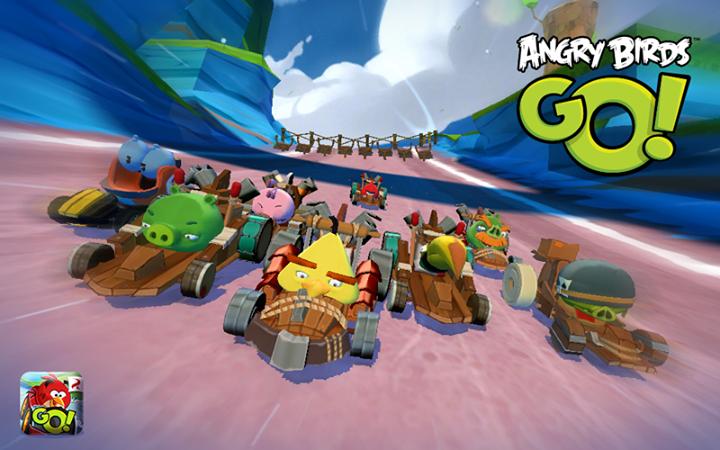 Angry Birds Go! gratis para android y ios