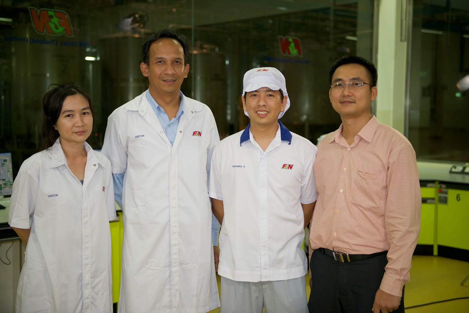 One of the solutions developed at F&N Dairies Thailand is called Process Nexus II.