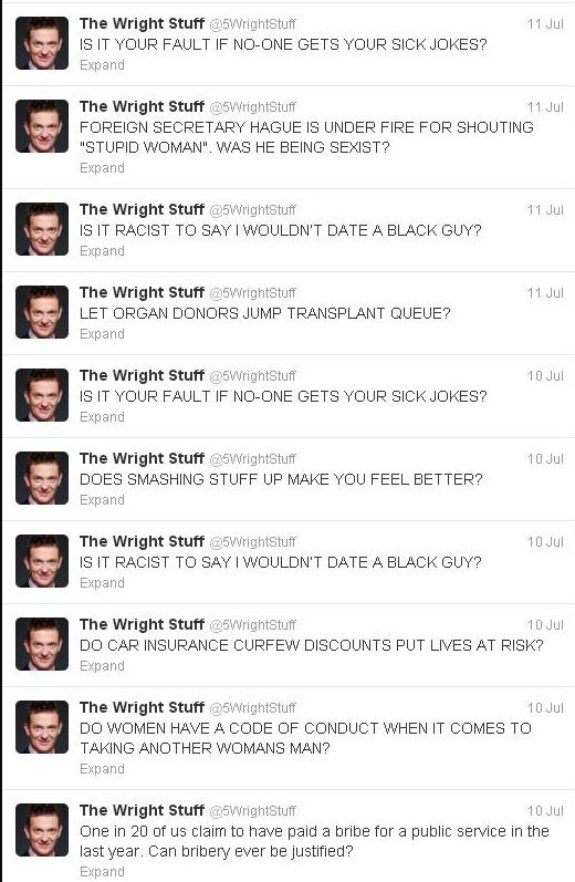 Matthew Wright Twitter